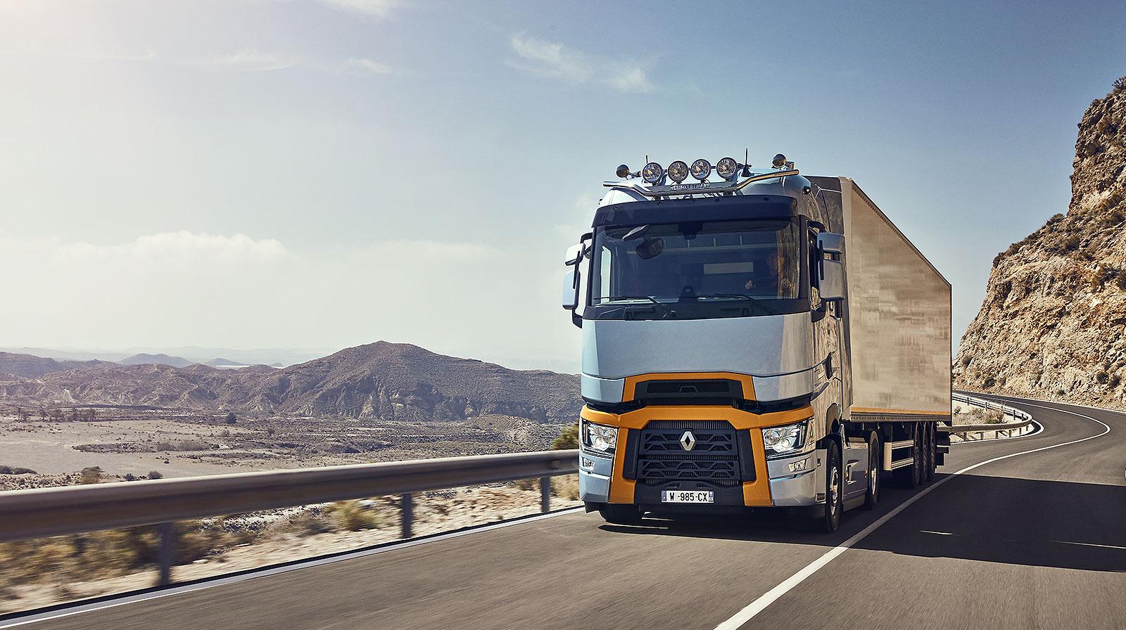 Vente et entretien de poids lourd Renault Trucks