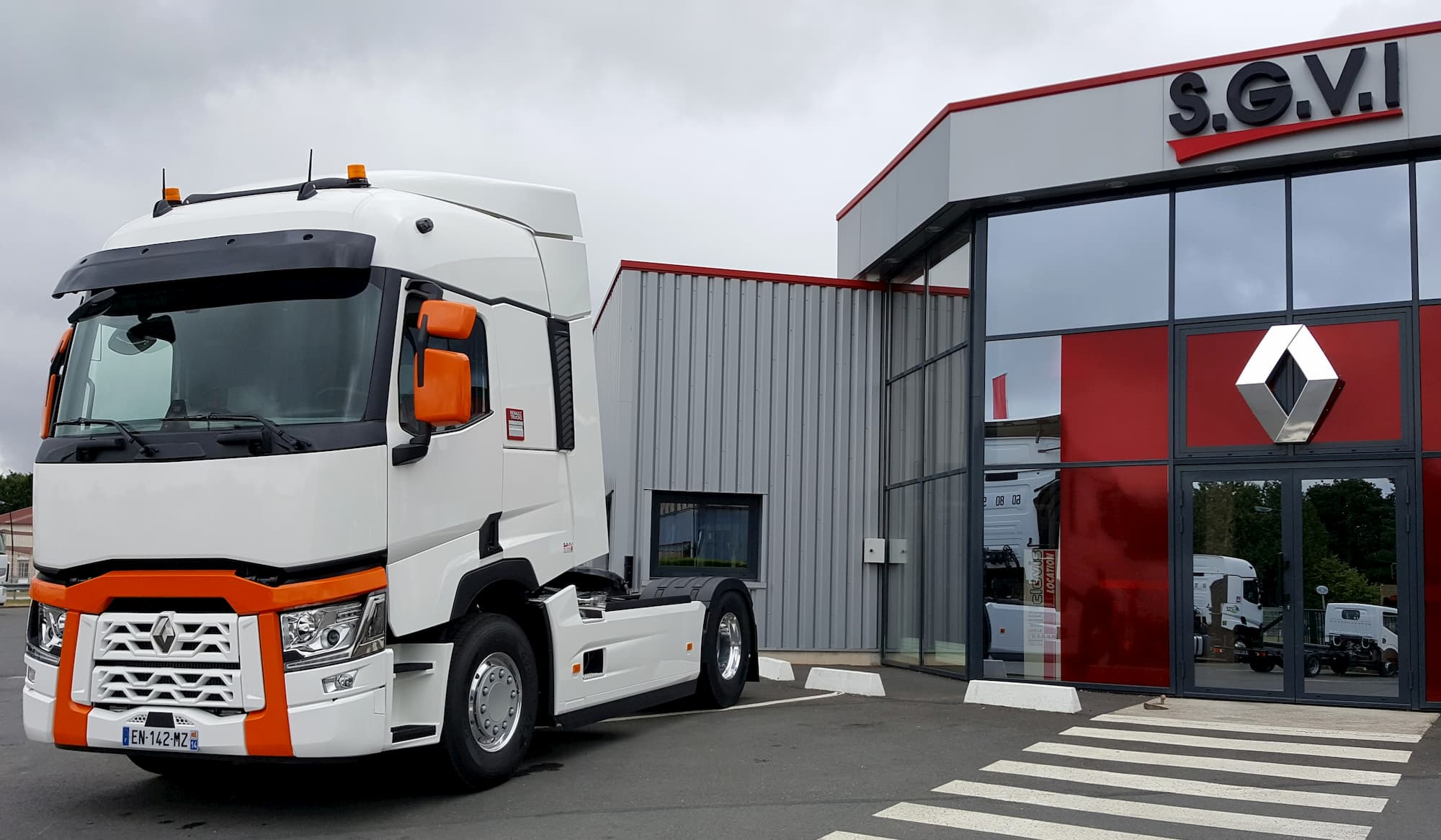Distributeur et réparateur agréés Renault Trucks