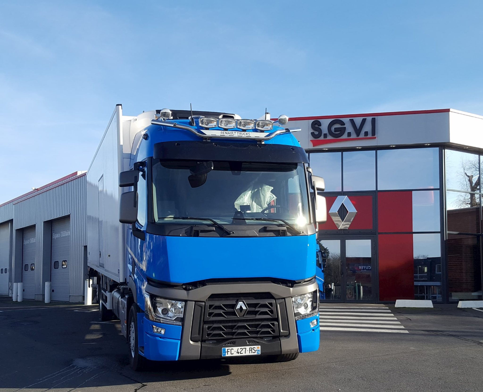 Groupe Renaudeau - Des gammes de camions Longue Distance, Distribution et Construction