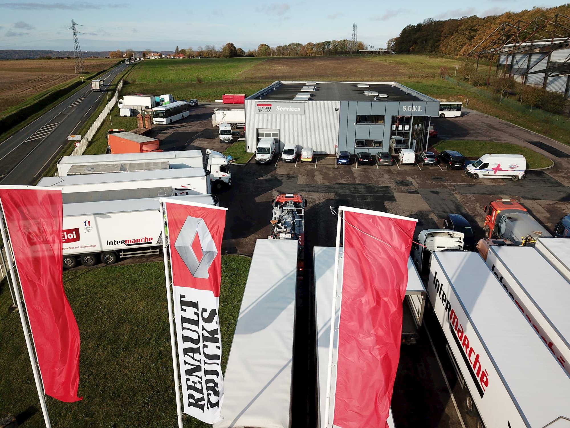 Groupe Renaudeau - Maintenance et Réparation de véhicules utilitaires et camions