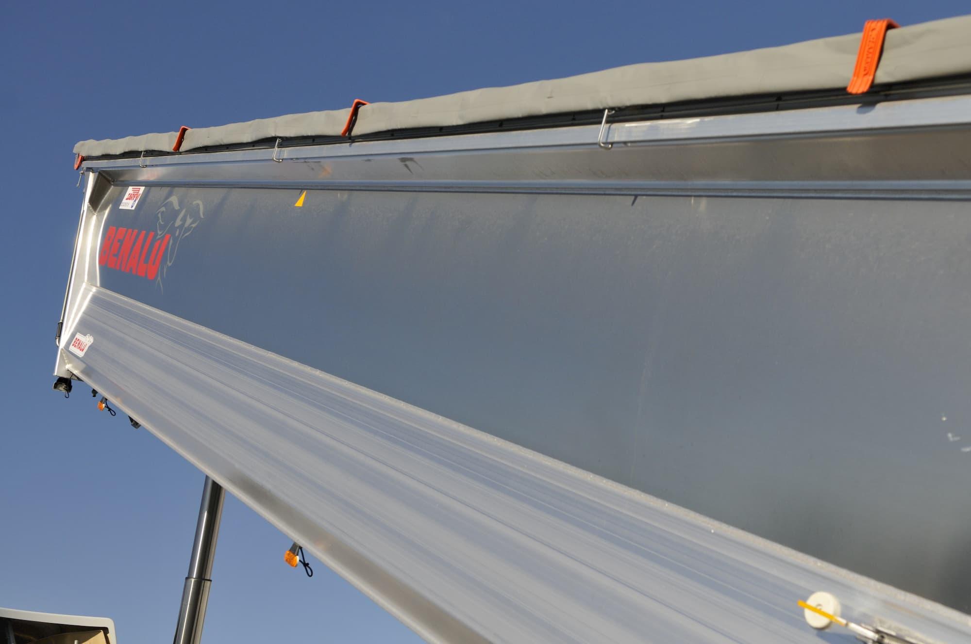 Benalu, bennes en aluminium et en acier pour VI