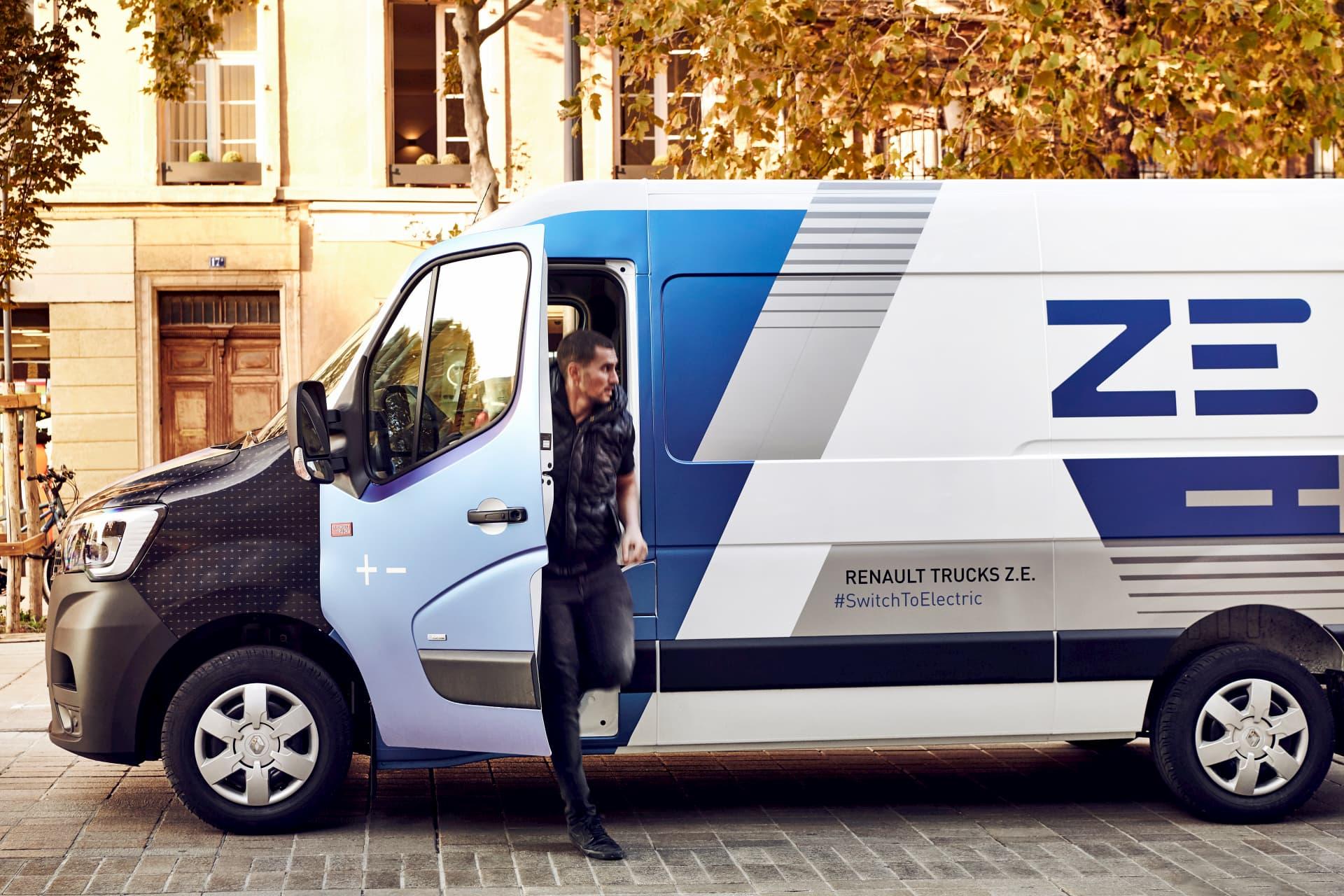 Renault Trucks ZE - Véhicule utilitaire électrique