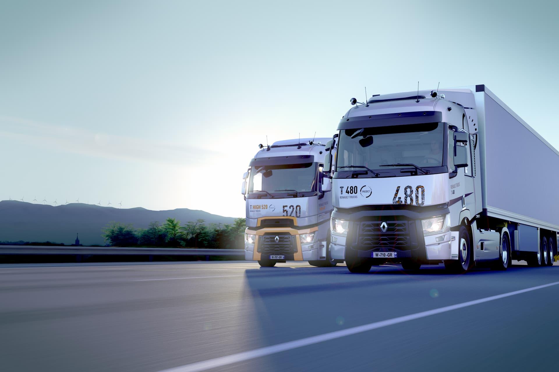 Groupe Renaudeau - Gamme T et T High de chez Renault Trucks