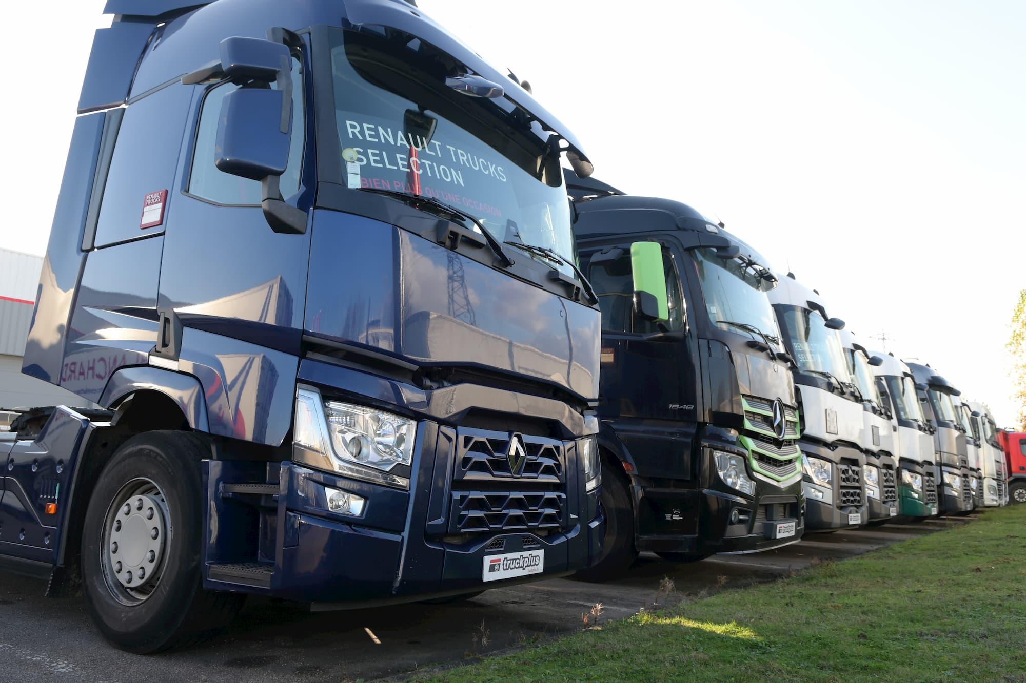 Truckplus - 1er réseau de vente de camions poids lourds d'occasion