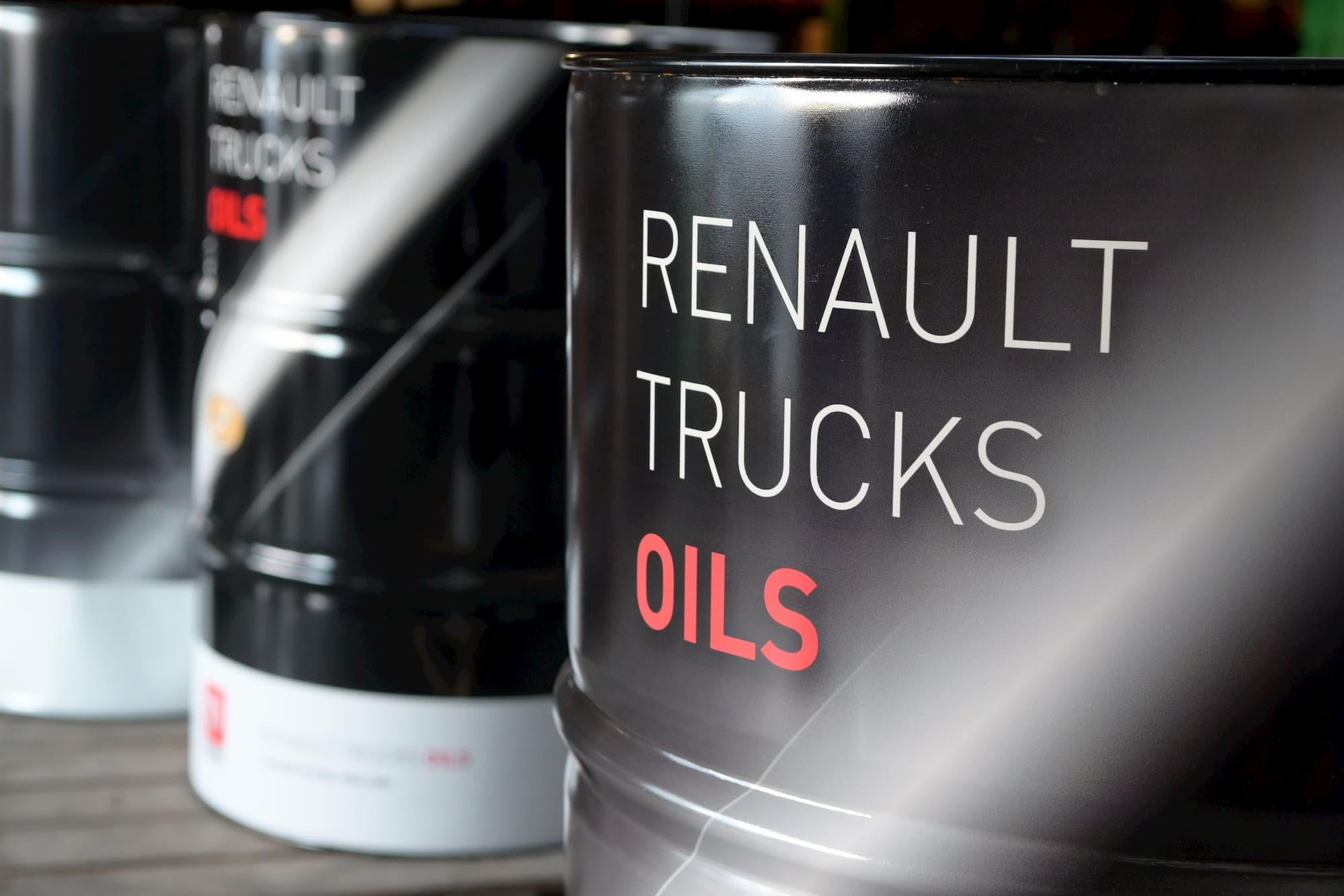 Renault Trucks Oils, lubrifiants et huiles pour camions poids lourds