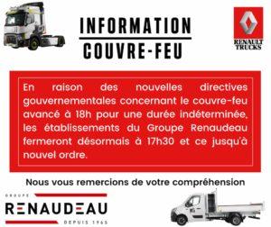 Information Couvre-Feu