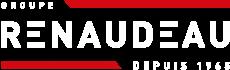 Logo Groupe Renaudeau blanc